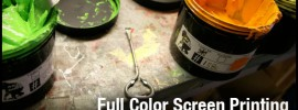 Full Color Screen Printing with Photoshop